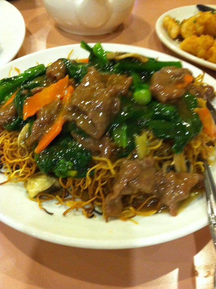 Pan fried noodle w beef yelp for Asian cuisine express