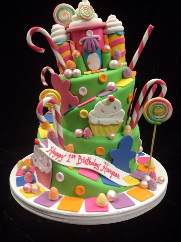 Candyland Themed Birthday Cake Yelp