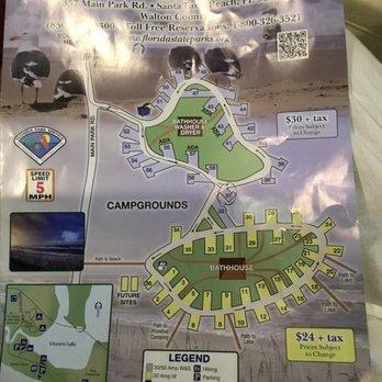 Florida State Parks Camping Map.Grayton Beach State Park 132 Photos 35 Reviews Parks 357