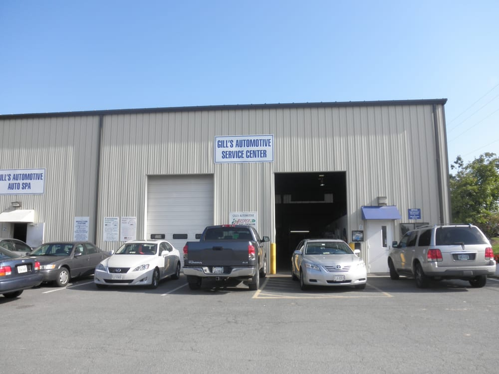 Gill's Automotive Service Center: 21585 Cedar Ln, Sterling, VA