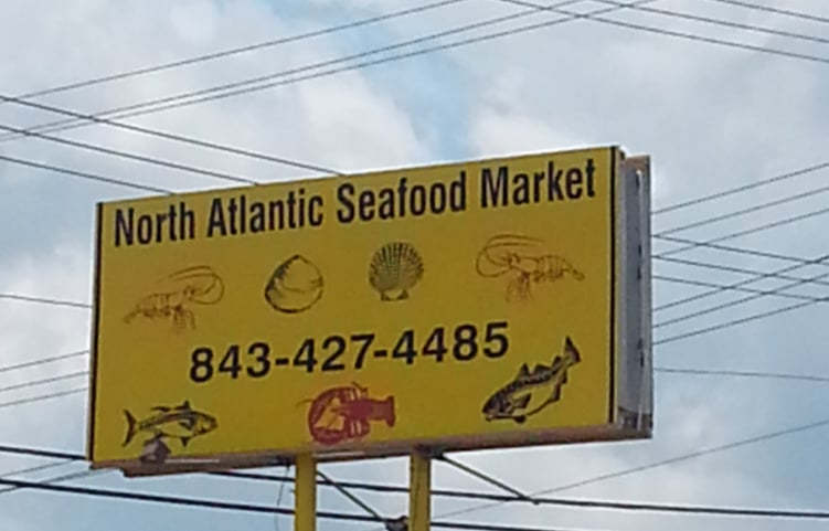 North atlantic seafood market open mon sat 10 6 sun 10 5 for Atlantic fish market