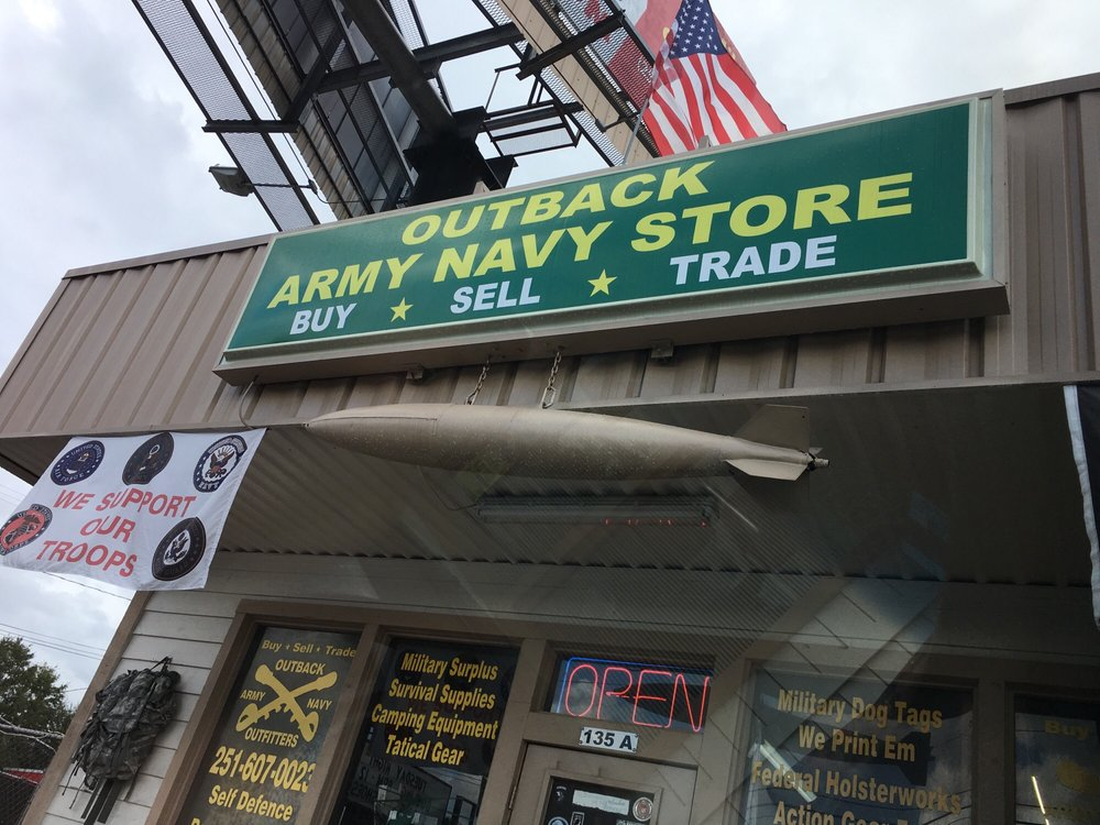 Outback Army Navy: 135 Schillinger Rd N, Mobile, AL