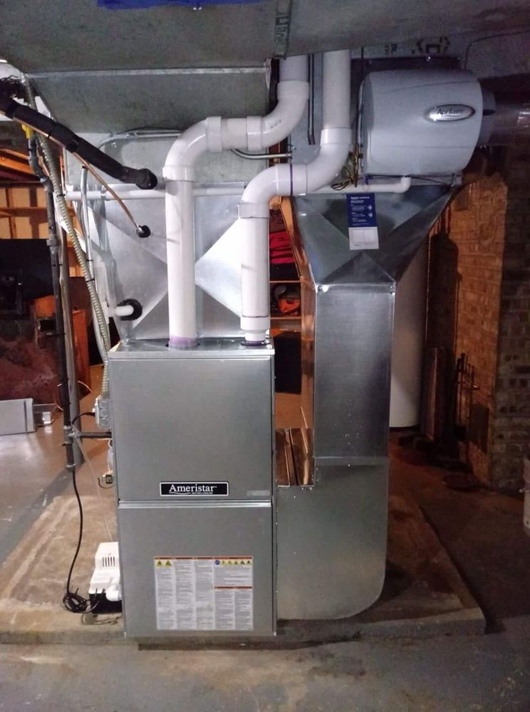 Replaced a 60 year old furnace with this beauty 95