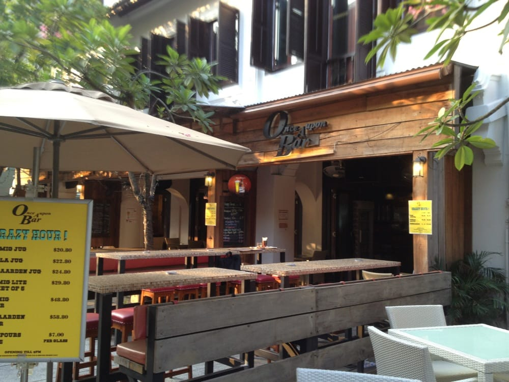 Once Upon A Bar Singapore