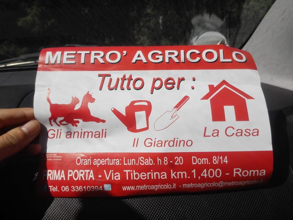 Metrò agricolo gärtnerei & gartencenter via tiberina km. 1 400