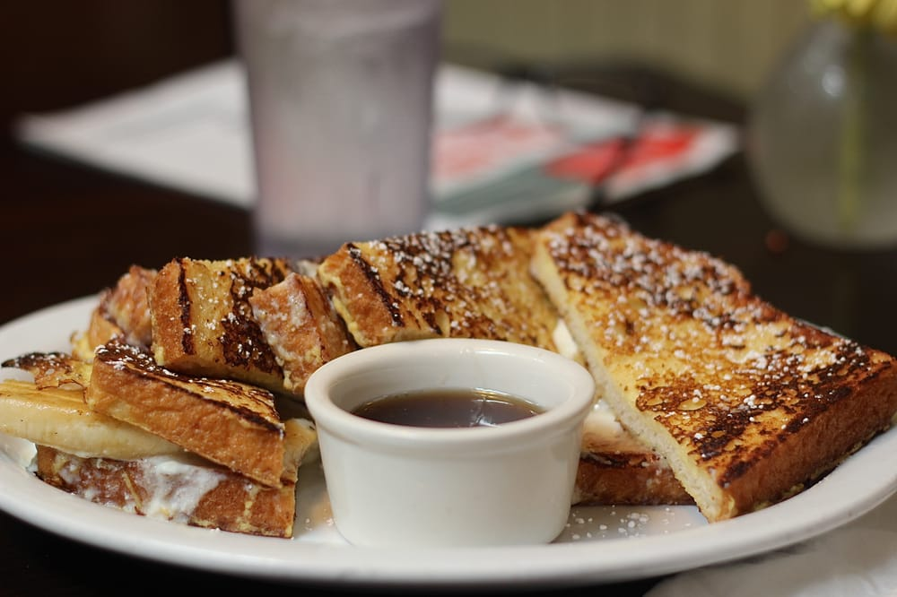 ... States. stuffed french toast with ricotta cheese, honey, and banana