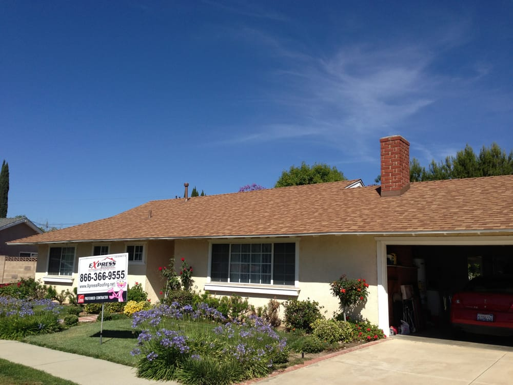 Job In Simi Valley New Shingle Roof Owens Corning