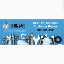 Trident Plumbing - Plumbing - 122 Rose Ln, Frisco, TX