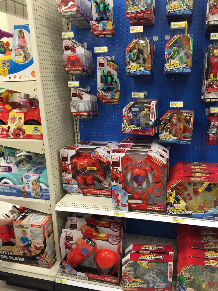 Toys For 6 : This target has big hero toys my boys were very excited