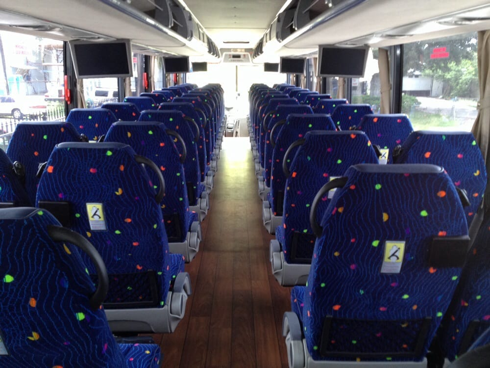 55 passenger motor coach yelp for Royal motors houston tx