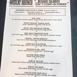 Bosscat brunch menu yelp for Bosscat kitchen