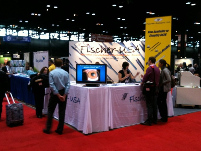 Fischer-USA - Handmade surgical instruments at trade show - Yelp