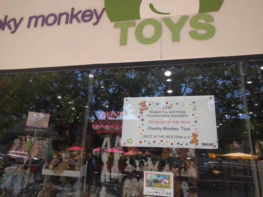 Cheeky Monkey Toys: 640 Santa Cruz Ave, Menlo Park, CA
