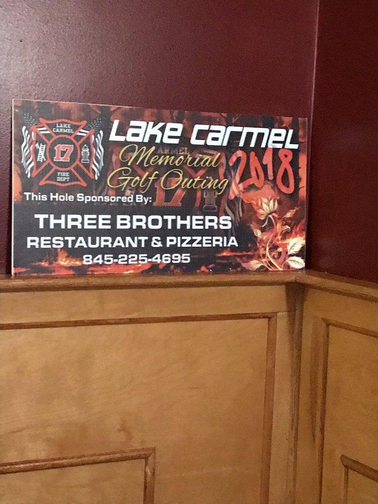 Three Brothers Restaurant & Pizzeria: 1100 Route 52, Carmel, NY