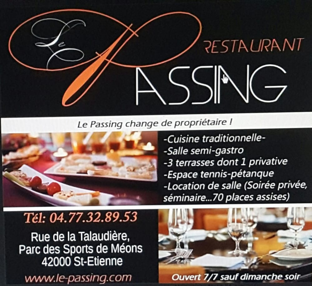 Le passing french rue de la talaudi re saint tienne for Restaurant la talaudiere