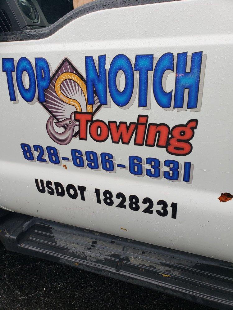 Top Notch Towing: 508 South Main St, Hendersonville, NC