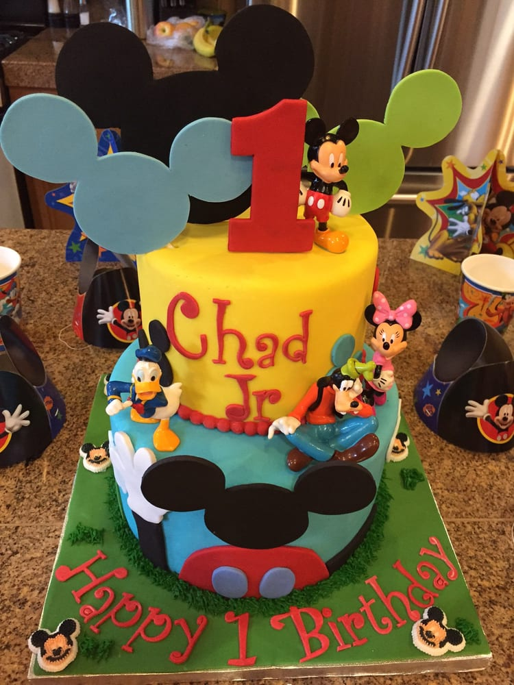 Mickey Mouse Clubhouse Birthday Cake Yelp
