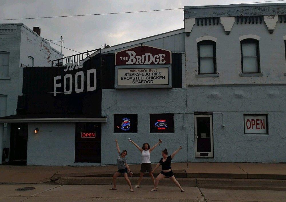 The Bridge Restaurant & Lounge: 31 Locust St, Dubuque, IA