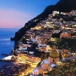 Image result for sorrento italy photos at night