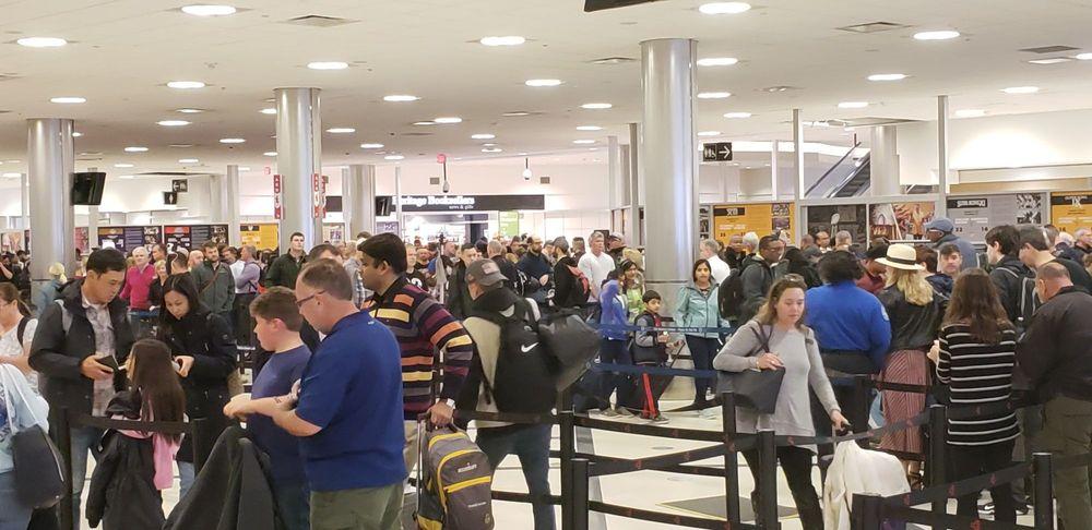 TSA Checkpoint Main - Atlanta International Airport - 6000 N