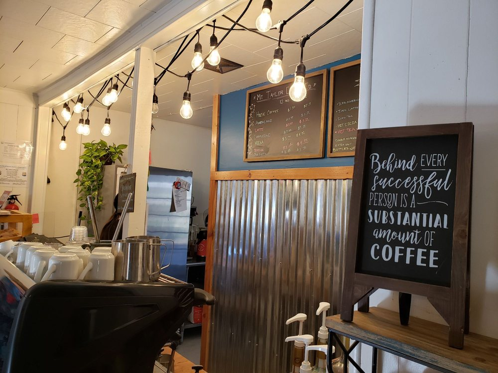 Mt. Taylor Coffee Co.: 201 Central Ave, Grants, NM