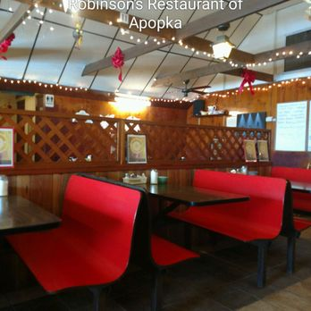 Photo Of Robinson S Restaurant Apopka Fl United States Same Dated