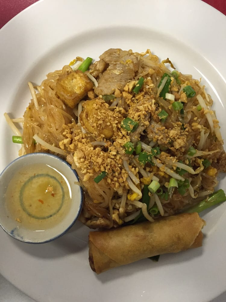Yummers lunch special pad thai yelp for Jasmine cuisine