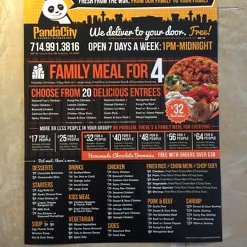 Panda City Chinese Restaurant Anaheim Ca