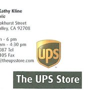 Ups in fountain valley