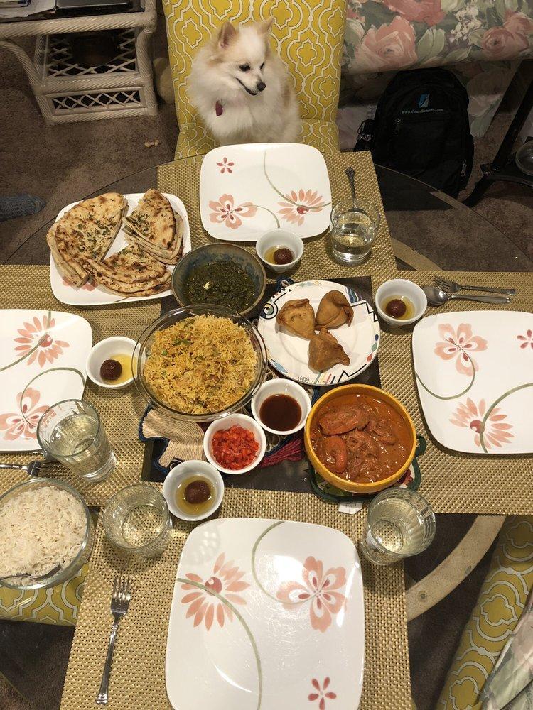 Food from Punjabi Dhaba