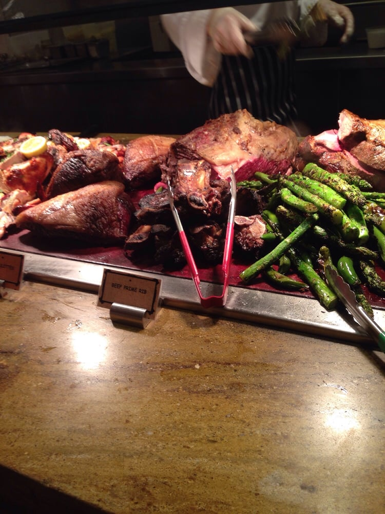 Meat carving station yelp