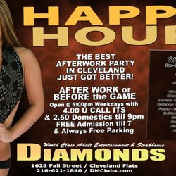 diamonds mens club cleveland ohio