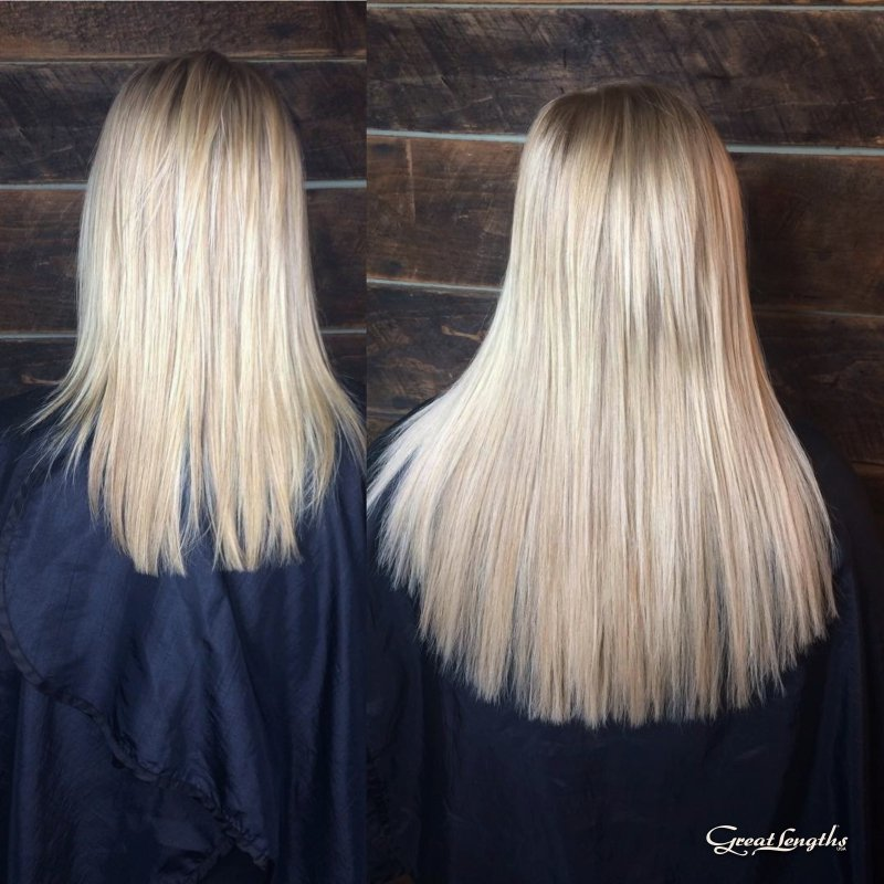 Great Lengths Hair Extension Transformation Cold Fusion Bonding Yelp