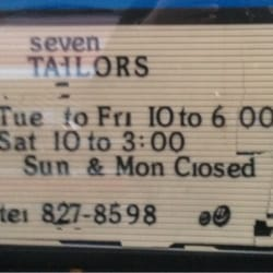 Seven Tailors - (New) 20 Reviews - Sewing & Alterations - 205 Main