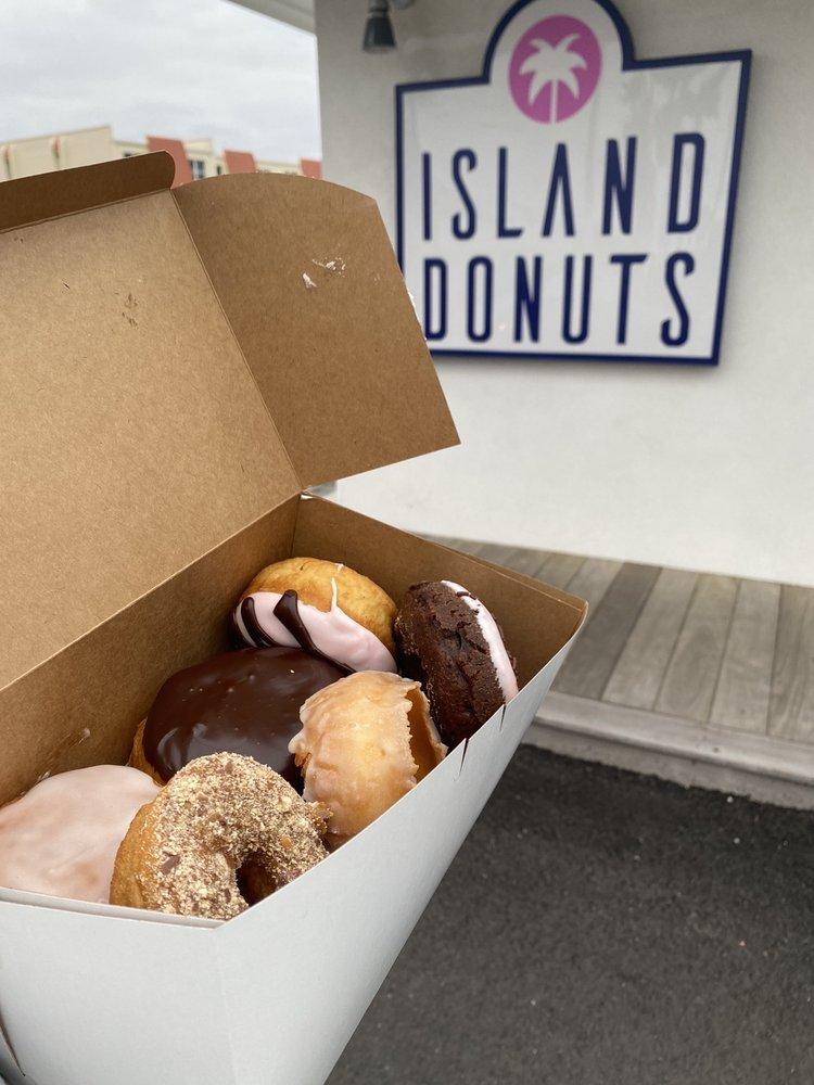 Island Donuts: 400 A1A Beach Blvd, St. Augustine, FL