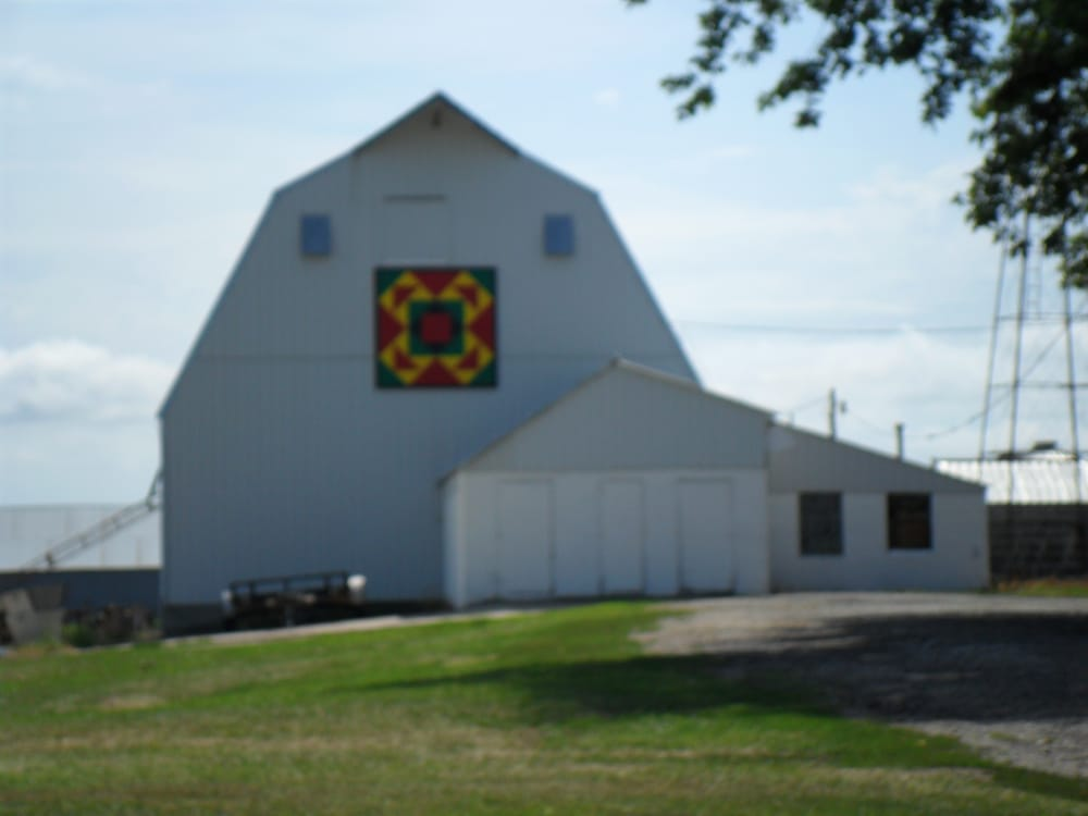 Barn Quilts: 2537 Xavier Ave, Sac City, IA