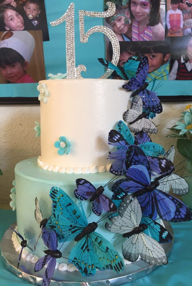 Birthday Cake For My Daughters 15th Birthday Absolutely Beautiful