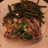 Photo of Boars Head Restaurant & Tavern - Panama City Beach, FL, United States. Tuna and green beans