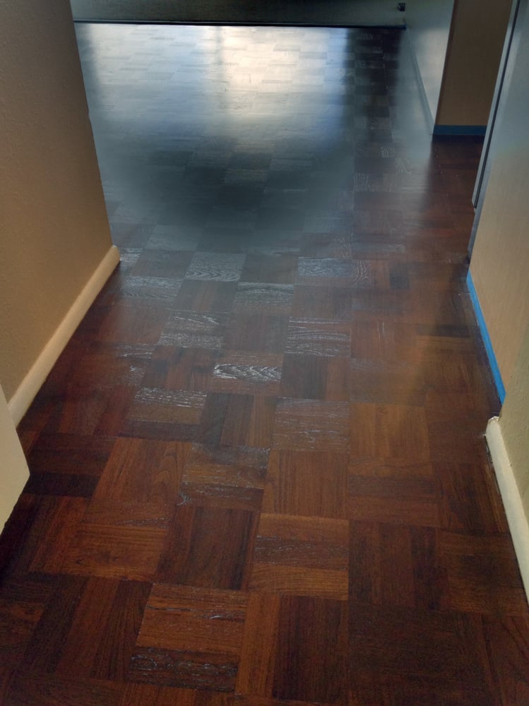 Photo Of Da Vinci Floors Honolulu Hi United States Parquet Floor Sanded