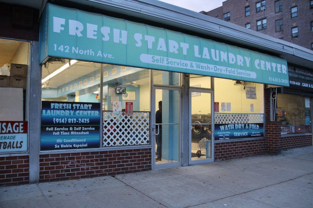 Fresh Start Laundromat Center: 142 North Ave, New Rochelle, NY