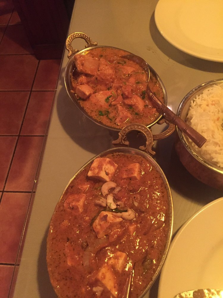Chicken Rogan Josh And Shahi Paneer Yelp
