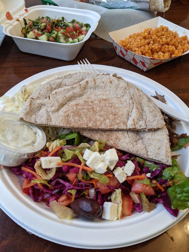 Food from Arslans Turkish Street Food