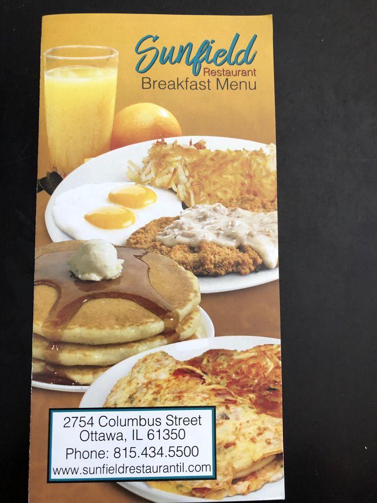 Sunfield Restaurant: 2754 Columbus St, Ottawa, IL