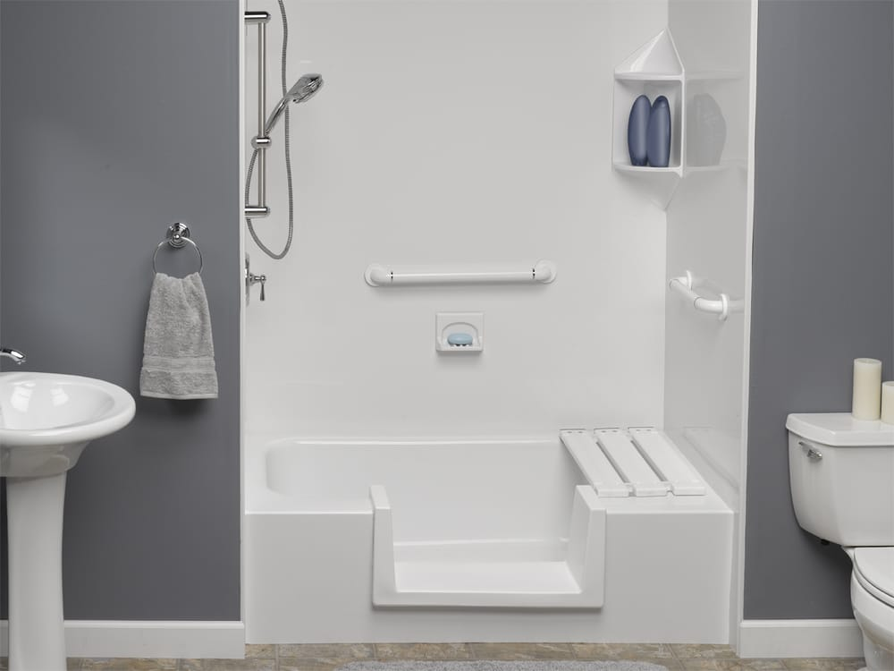 Think Converting Your Bathtub Into A Shower Requires Major