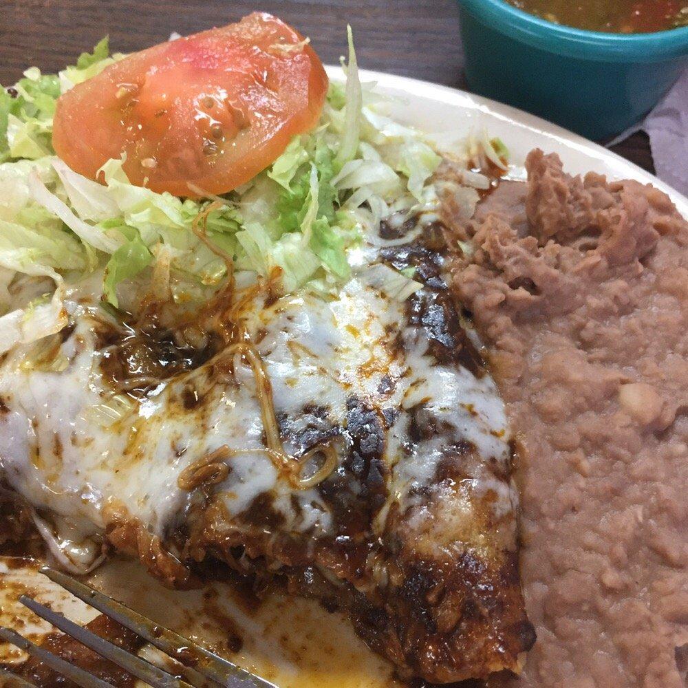 Food from El Caballero Restaurant