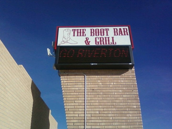 The Boot Bar and Grill: 702 E Main St, Riverton, WY