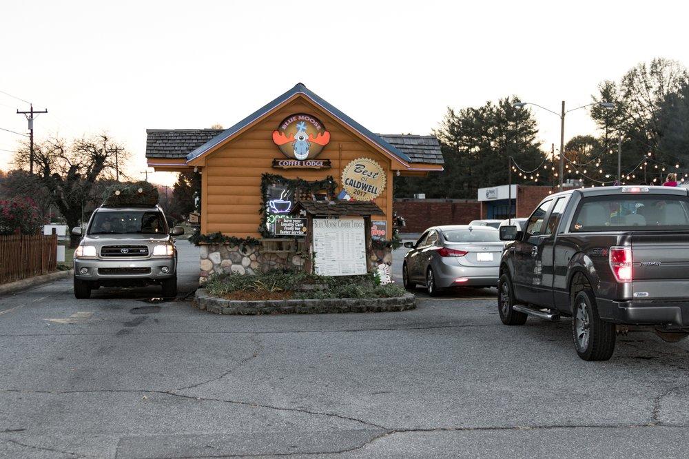 Blue Moose Coffee Lodge: 250 Morganton Blvd SW, Lenoir, NC