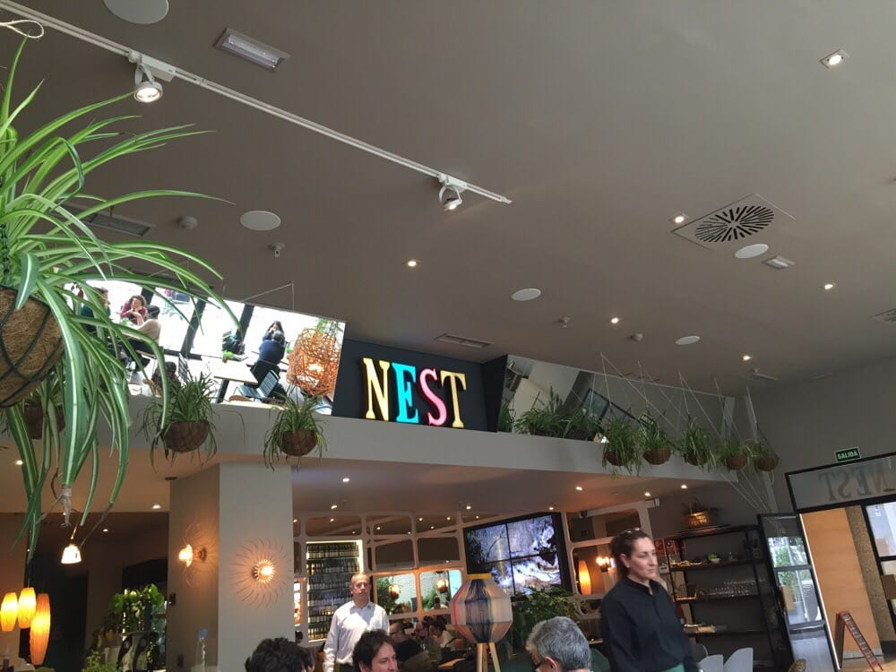 Nest organic smoothies saftbar centro comercial moda - Centro comercial moda shoping ...