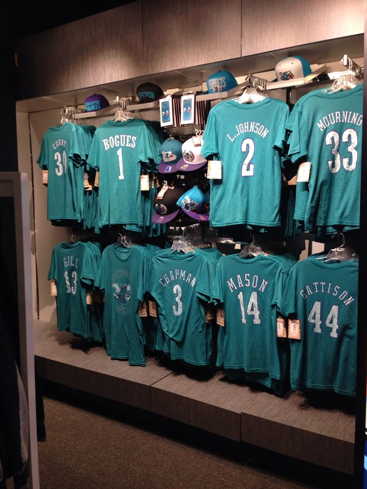 timeless design 94804 4b66a Hornets gear in the team store... - Yelp