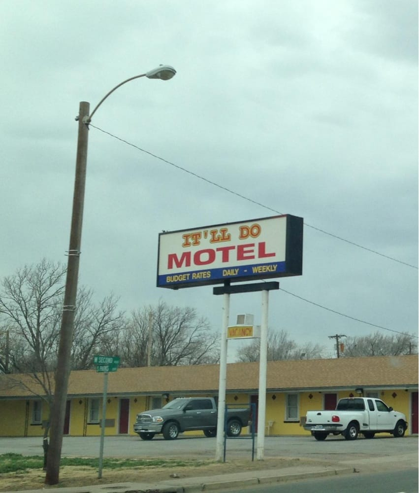 It'll DO Motel: 403 W 2nd St, Clarendon, TX